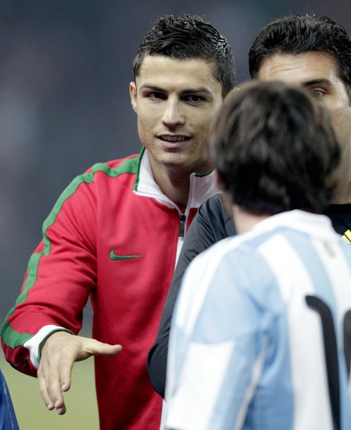 Cristiano Ronaldo I M Not Playing Just Lionel Messi: International Friendly III: Argentina Vs. Portugal