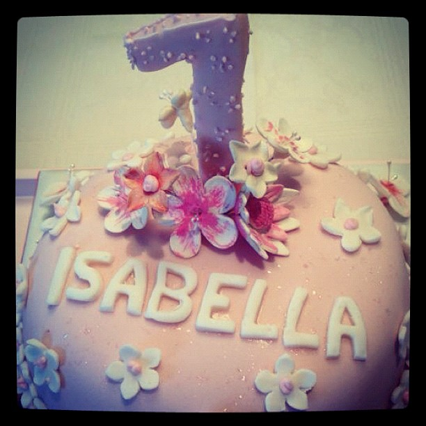Happy First Birthday Isabella Celico Leite!