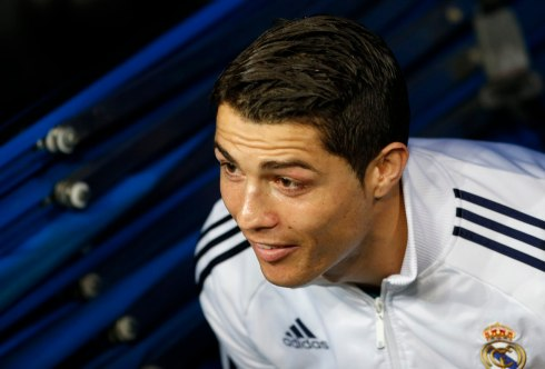 Real Madrid's Ronaldo arrives at their Champions League Group D soccer match against Ajax Amsterdam at Santiago Bernabeu stadium in Madrid