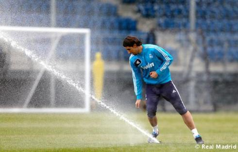 Sami Khedira: So hot they had to turn the sprinklers on him.
