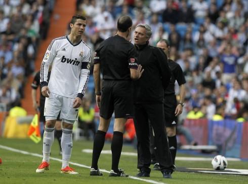 Jose Mourinho, Cristiano Ronaldo, Alvarez Izquierdo