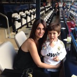 Nagore & Jon (who is looking so much like his papi)