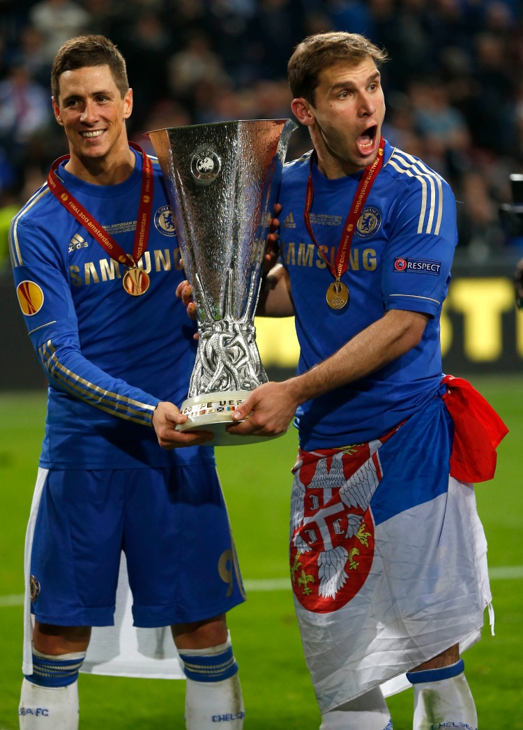 Chelsea Torres and Ivanovic celebrate with trophy after ...