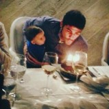 Iker holding Mateo & blowing out his candles. (Obvs wishing for his own baby)