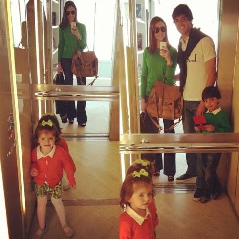 Carol, Kaka, Isabella & Luca