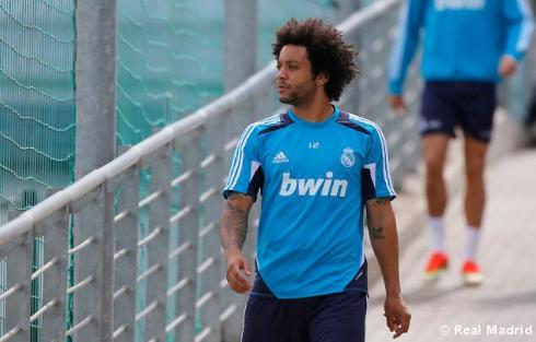 Makes me sad to see Marcelo walking by his lonesome.