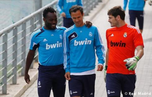 Essien steps up his bromancing!