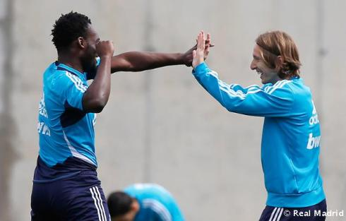 Essien and Luka sitting in a tree...