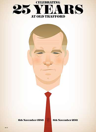 Sir Alex Ferguson by Stanley Chow (@stan_chow)
