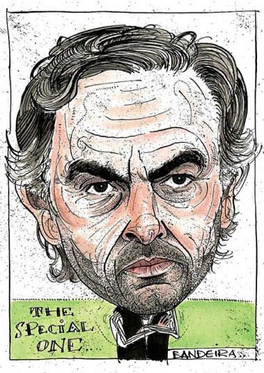 Jose Mourinho by Graeme Bandeira (@GraemeBandeira)