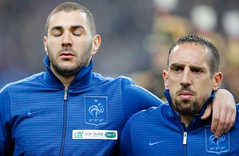 """Mon Dieu, Franck - we dodged a bullet again"""