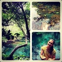 Ana Sofia on vacation