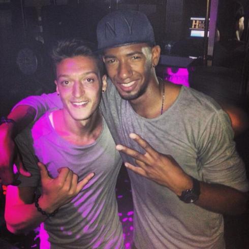 Mesut and Jerome Boateng