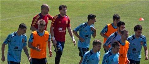 Pepe Reina, Iker Casillas