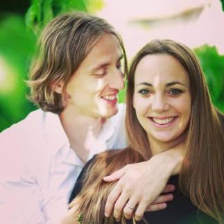 Luka wishes Vanja a happy birthday