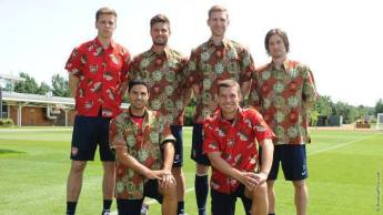Arsenal have flower power