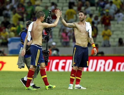 Soccer 2013 - Confederations Cup - Spain Beats Nigeria 3-0
