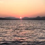 Vacation sunset by Juan Mata
