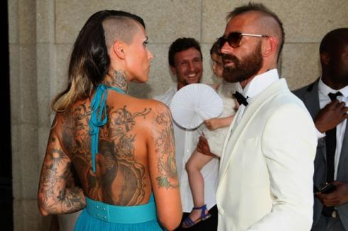 Castro, jogador do F C Porto, casou-se com Joana Melo