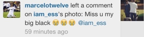 Here's the comment Marcelo left on the picture! (Source: wishing-on-those-fireflies, via fyeahreal)