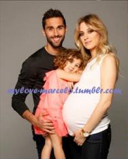 Alvaro, Alba & Carlota pre-baby Raul