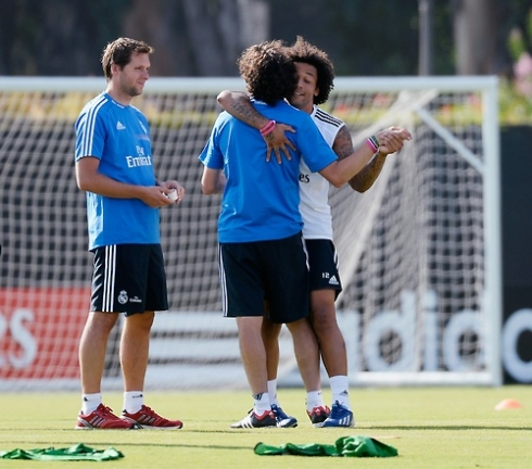 Could Marcelo get more adorble? Probably not.