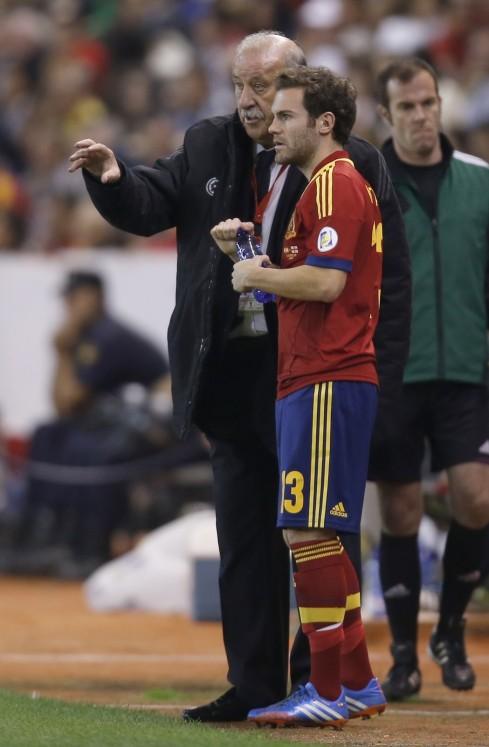 Vicente del Bosque, Juan Mata