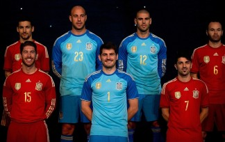 Spanish Football Team Outfits Presented