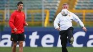 12. Alex Ferguson, Christiano Ronaldo, 2008