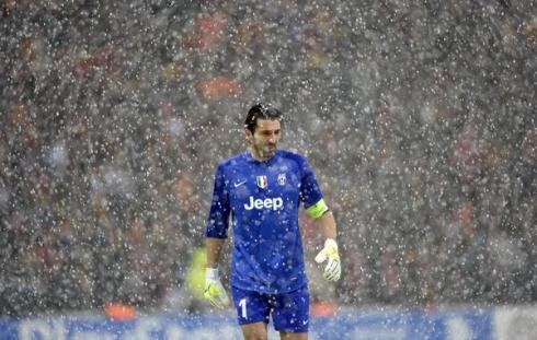 Gigi in the snow