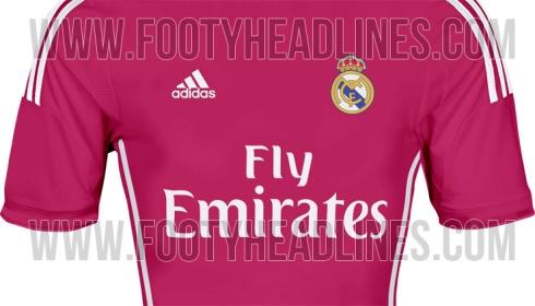 Real Madrid 14-15 Away Kit Colors