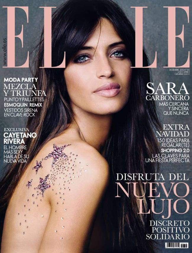 Sara carbonero elle magazine 1 of headbands and for Elle subscription change address