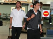 Ankunft Real Madrid in Zagreb