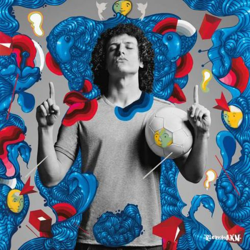 David Luiz by Ricardo AKN