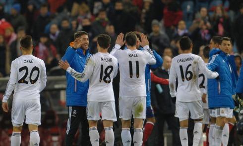 Atletico de Madrid - Real Madrid, Liga Copa del Rey. Jornada Semifinal. // Atletico de Madrid - Real Madrid, Copa del Rey Leage. Round Semifinal.