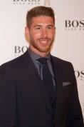 Sergio Ramos launches Hugo Boss in Madrid.