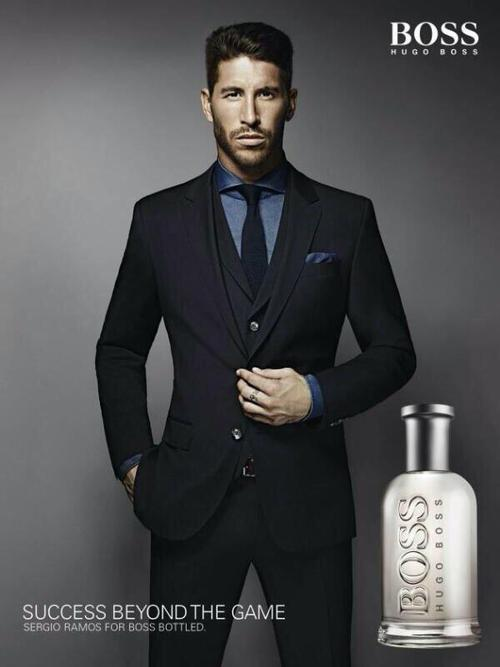 Sergio Ramos For Hugo Boss Launch | Of Headbands and ...