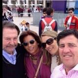 Morata & Nacho's family