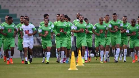 Algeria training june nine