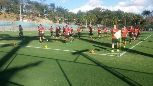 first training in Belo Horizonte