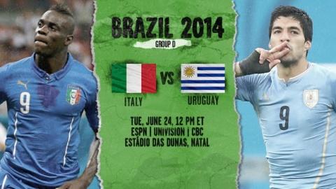 italy uruguay