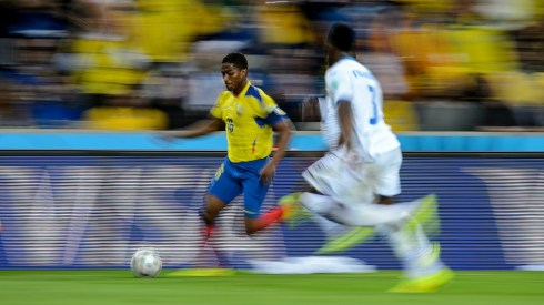 Ecuador & Man Utd's Antonio Valencia was splendid in this match - but he's no Enner Valencia (Matthias Hangst/Getty).