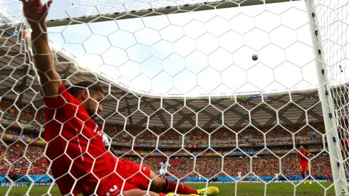 Heroics from Switzerland's Ricardo Rodriguez ensure the Europeans a clean sheet (Matthew Lewis/Getty).