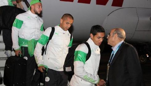 Algeria arrives in Porto Alegre