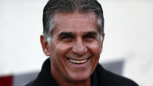 Carlos Queiroz, coach of Iran