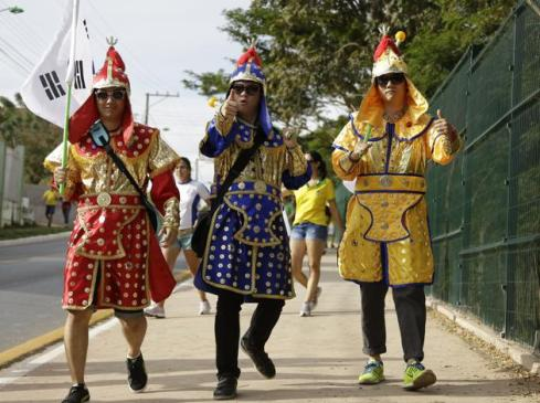 Pic 2 South Korean fans