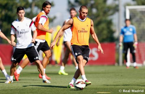 Looking good Karim! No fat camp for you this year.