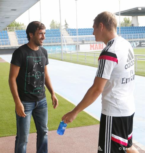 """""""Wait, didn't I play against you in Germany?!"""""""