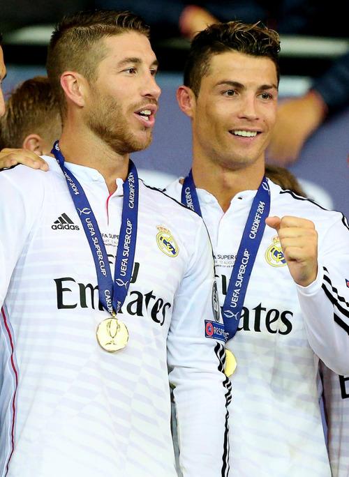 ESM Team of the Month - April 2014 |Sergio Ramos And Cristiano Ronaldo