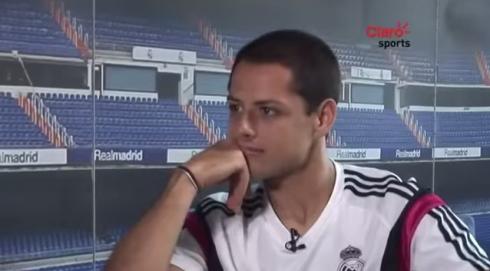 chicharito claro sports interview